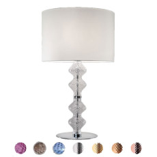 Ai Lati Lights Lampe de table Onda 3 lumières E27 H 80 cm