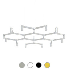 Nemo Lampe suspension Crown Plana Minor 12 Lumières G9 Ø 115 cm Dimmable