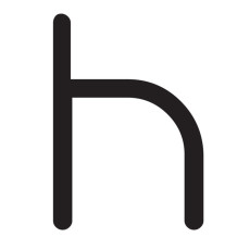 Artemide Applique Alphabet of light - Lettera H LED