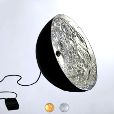 Catellani & Smith Stchu-Moon Lampe de Terre Ø 60 cm Sp. 30 cm LED Différentes Couleurs