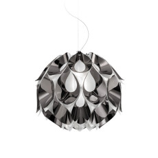 Slamp lampe à suspension Flora Medium Pewter 3 luci E27 Ø 50 cm