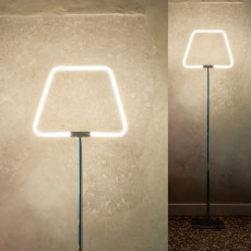 Antonangeli lampadaire Archetto Shaped LED RGB 23W H 170 cm