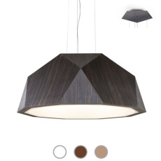 Fabbian Lampe suspension Crio Ø 115 cm LED 139W dimmable