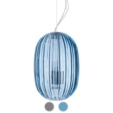 Foscarini Suspension Plass Media 1xE27 + 1xGU10 L34 cm