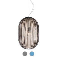 Foscarini Suspension Plass Media 1 lumière E27 Ø34 cm