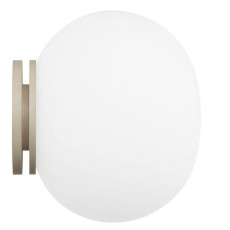 Flos Applique/plafonnier Mini Glo-Ball C/W 1 Lumiére G9 Ø 11,2 cm