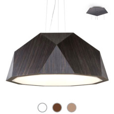 Fabbian Lampe suspension Crio Ø 180 cm LED 166,8W dimmable