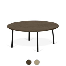TEMAHOME Table basse Ply 80 Ø 80cm