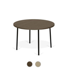 TEMAHOME Table basse Ply 70 Ø 70cm