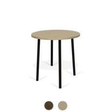 TEMAHOME Table basse Ply 50 Ø 50cm