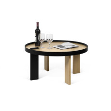 TEMAHOME Table basse Bruno 80  Ø 80cm