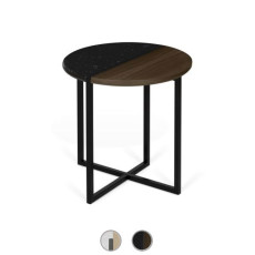 TEMAHOME Table basse Sonata 50 Ø 50cm