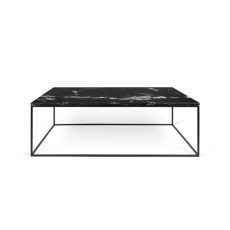 TEMAHOME Table basse Gleam 120 Marmo Marquina L 120cm