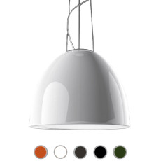 Artemide Suspension Nur Gloss LED 45W 2250lm 2700K ø55cm Différentes Couleurs