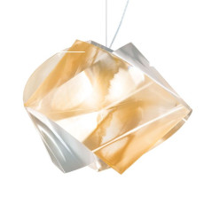 Slamp Gemmy Prisma Suspension 1 lumière E27 H 34 cm