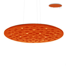Artemide Silent Field 2.0 Suspension LED 37W Ø 100 cm Dimmable Orange