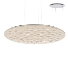 Artemide Silent Field 2.0 Suspension LED 37W Ø 100 cm Dimmable Blanc