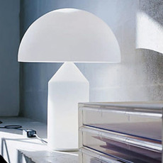 Oluce Lampe de table Atollo 236 Ø 25cm 32 Ampoules