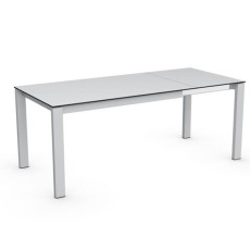 Connubia Calligaris Baron Table extensible 130/190 cm jambes rectangulaires