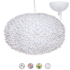 Kartell Lampe à suspension Bloom Ø 80 cm 9 Lumières G9