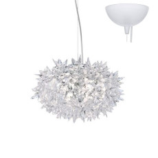 Kartell Bloom Suspension  Lampe 3 Lumières Ø 28 cm IP20 Crystal