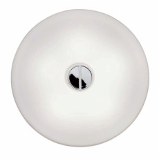 Flos Plafond/Applique Button 2 Lumiéres T5 Ø 41 cm