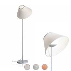 Luceplan Lampe de sol Cappuccina LED 12W H 150 cm Dimmable