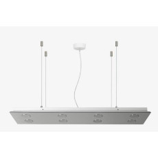 Emporium DAMA Suspension 8X9W Lights GX 53 L 120cm