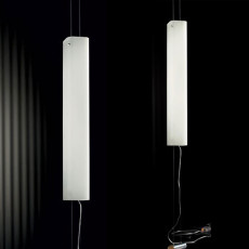 De Majo Suspension verticale Carrè SV 3 Lumières E27 H 400 cm Dimmable