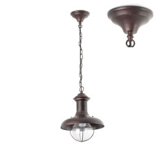 Faro Outdoor Lampe à suspension Estoril-P 1 lumière E27 Ø 27 cm