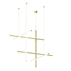 Flos Suspension Coordinates S3 CL III LED 64W L 78,2 cm