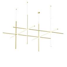 Flos Suspension Coordinates S4 CL III LED 147W L 176,2 cm