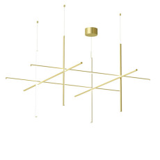 Flos Suspension COORDINATES S4 CHA LED 161W L 176,2 cm