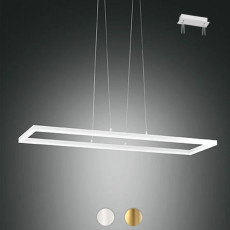 Fabas Suspension Bard LED 52W L 92x32 cm Dimmable