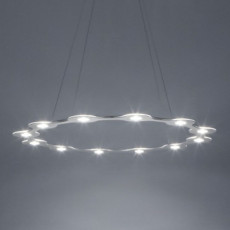 Lumen Center FLAT RING 12 Lampe Suspension LED 78W 3000K Ø 98 cm dimmable