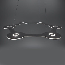 Lumen Center FLAT RING 6 Lampe Suspension LED 39W  Ø 63 cm