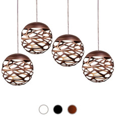 Studio Italia Design Lampe à suspension Kelly Cluster Sphere LED 36W Ø 18 cm