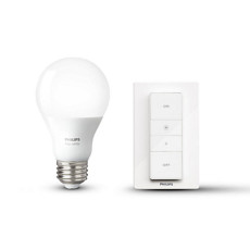Philips Hue Wireless dimming kit ampoule + interrupteur dimmer E27 9,5W Ø 6,1 cm