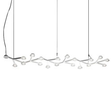 Artemide Led Net Line Suspension LED L125 18Ampoules LED