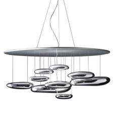 Artemide Mercury Halo Suspension Ø110 cm 2 Ampoules Dimmerable