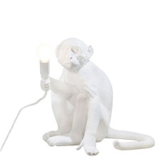 Seletti Lampe de table Monkey LED