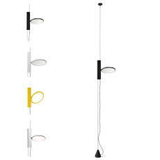 Flos Lampe Suspension Ok  LED 18W Ø 20 cm Dimmable Diffèrent Couleurs