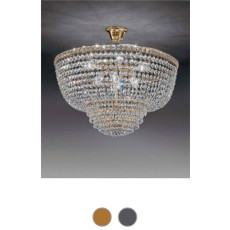 Settat Empire Suspension Ø 31 cm Voltolina Style 3 lumières E14