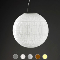 Sforzin Suspension Ball 1 Lumière E27 Ø 30 cm