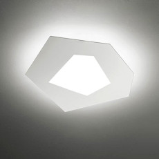 Sforzin Applique / Plafonnier Pablo LED 4,3W L 23x25,7 cm Dimmable