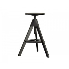 Magis Tabouret Tom The Wild Bunch H max 86 cm Noir