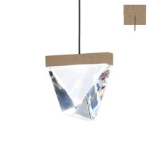 Fabbian Lampe à suspension Tripla LED 4.3W L 9,8 IP55 Réglable