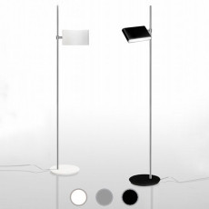 Danese Milano Lampe de sol Two Flags LED 35,5W H 183 cm