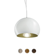 Vistosi Surface Suspension Ø 27 cm 1 Lumière E27 / LED