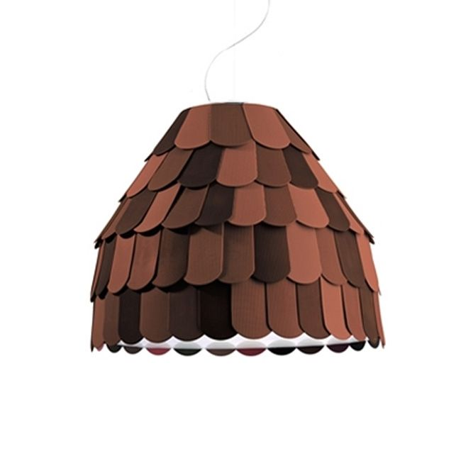 Fabbian Suspension Roofer 1 Lumière E27 Ø 57 cm